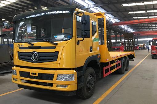 【30吨】东风特商T7后双桥平板运输车