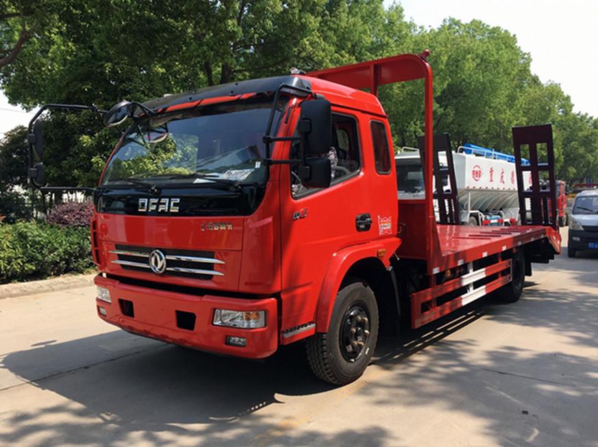 【13吨】东风多利卡D8平板运输车