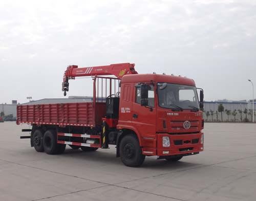 十通牌STQ5257JSQD5型随车起重运输车
