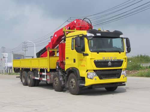 炎帝牌SZD5317JSQZ5型随车起重运输车