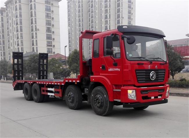 【38吨】东风锦程前四后八平板运输车