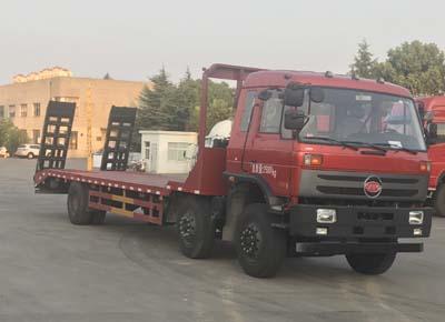 【28吨】福德牌小三轴低平板运输车