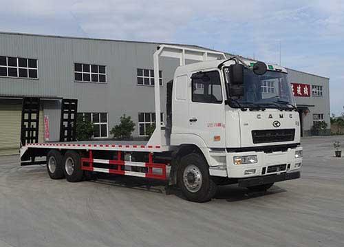 【35吨】华菱后双桥平板运输车