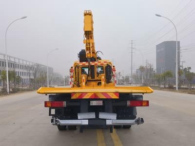 新东日牌YZR5180TQZSX型清障车