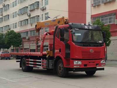 程力威牌CLW5161TQZC5型清障车