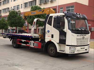 程力威牌CLW5081TQZC5型清障车