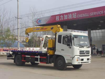 程力威牌CLW5122TQZD5型清障车