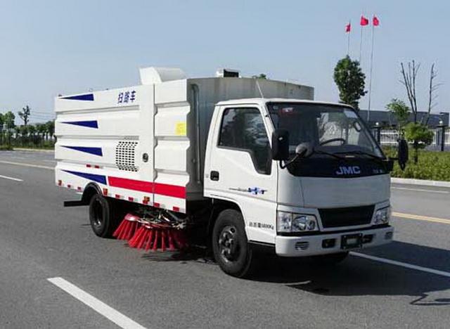 虹宇牌HYS5060TSLJ5型扫路车