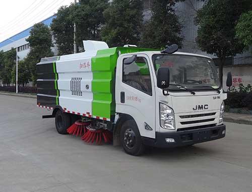 虹宇牌HYS5061TSLJ5型扫路车