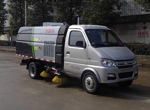 虹宇牌HYS5030TSLS5型扫路车