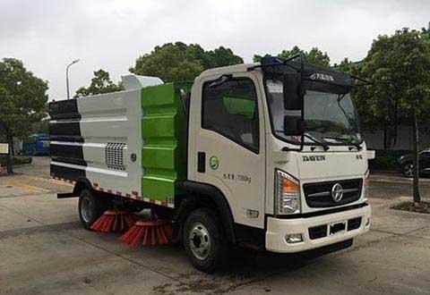 虹宇牌HYS5072TSLD5型扫路车