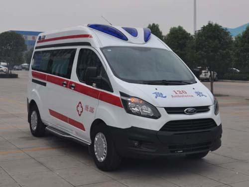 程力重工牌CLH5036XJHJ5型救护车