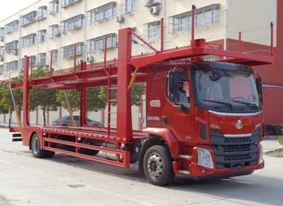 程力威牌CLW5180TCLL5型车辆运输车