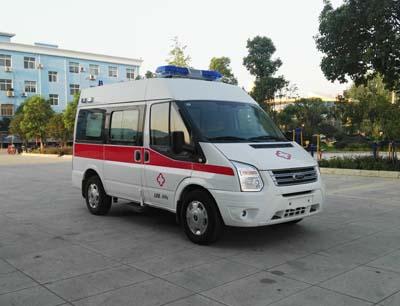 程力威牌CLW5036XJHJ5型救护车