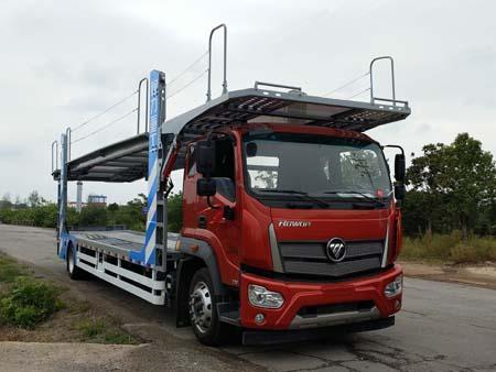 程力重工牌CLH5180TCLB5型车辆运输车