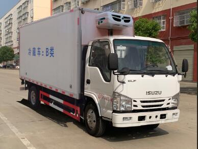 程力威牌CLW5040XLCQL6型冷藏车