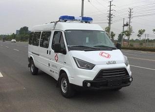 程力威牌CLW5045XJHJ5型救护车