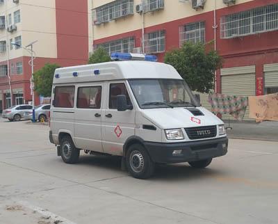 程力威牌CLW5040XJHNJ5型救护车