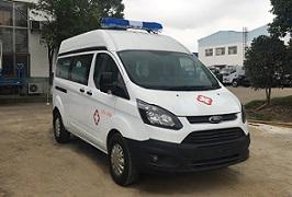 程力威牌CLW5037XJHJ5型救护车