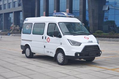 程力威牌CLW5034XJHJ5型救护车