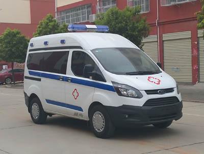 程力威牌CLW5035XJHJX5型救护车