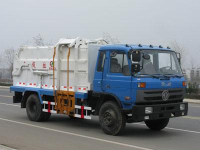 东风多利卡侧装压缩式垃圾车