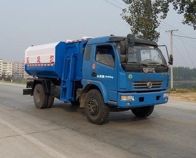 东风多利卡自装卸式垃圾车
